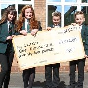 Charity Drive raises over �1000 for CAFOD