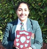 Huda wins Public Speaking Regional Heat