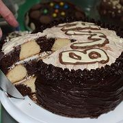 Chocolate Bake Off raises  �525 for Cancer Charity