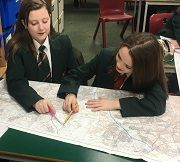 Y7 Geography Students Map out for Success